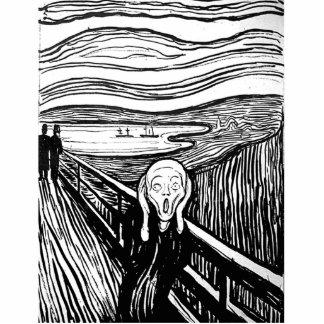 The Scream by Edvard Munch Cutout