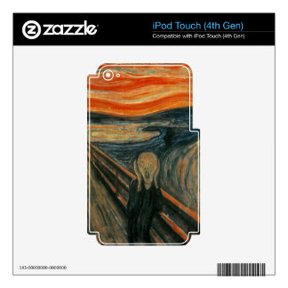 The Scream by Edvard Munch Decal For iPod Touch 4G
