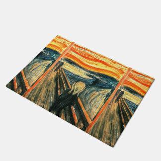 The Scream by Edvard Munch Doormat