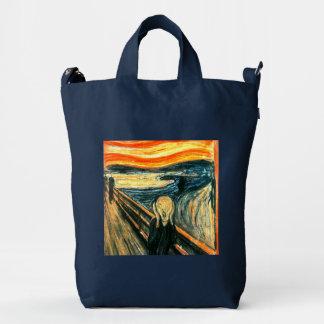 The Scream by Edvard Munch Duck Bag