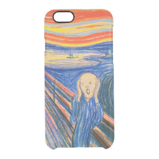 The Scream by Edvard Munch (in pastel) Clear iPhone 6/6S Case