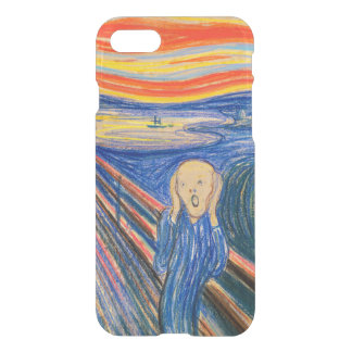 The Scream by Edvard Munch (in pastel) iPhone 8/7 Case