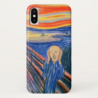 The Scream by Edvard Munch (in pastel) iPhone X Case
