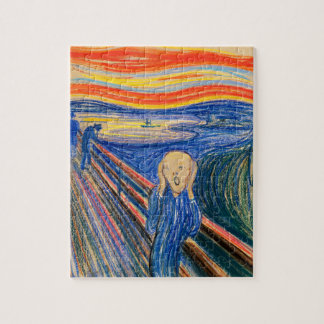 The Scream by Edvard Munch (in pastel) Modern Art Puzzle