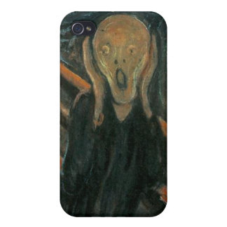 The Scream by Edvard Munch iPhone 4 Covers