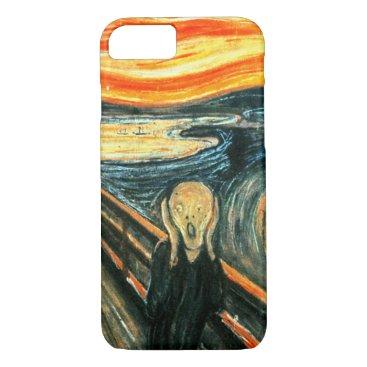 ArtDepot The Scream by Edvard Munch iPhone 8/7 Case