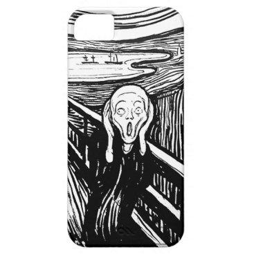 Ladiebug The Scream by Edvard Munch iPhone SE/5/5s Case