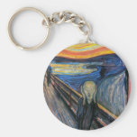 The Scream by Edvard Munch Key Chains