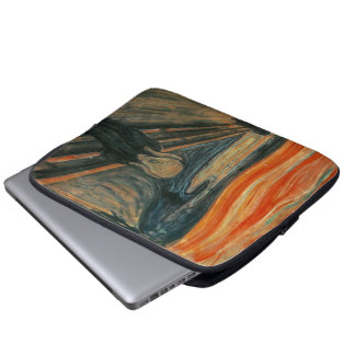 The Scream by Edvard Munch Laptop Computer Sleeves
