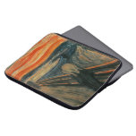 The Scream by Edvard Munch Laptop Sleeves