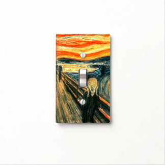 The Scream by Edvard Munch Light Switch Cover