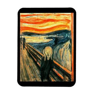 The Scream by Edvard Munch Magnet