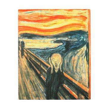 ArtDepot The Scream by Edvard Munch Metal Print
