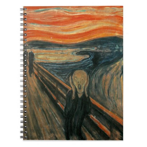 The Scream by Edvard Munch Note Book