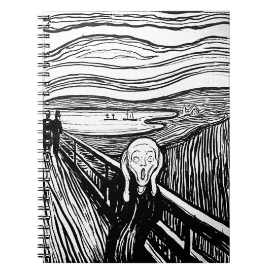 The Scream by Edvard Munch Notebook