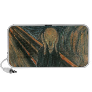 The Scream by Edvard Munch Notebook Speakers