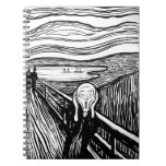 The Scream by Edvard Munch Notebooks