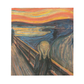 The Scream by Edvard Munch Notepad