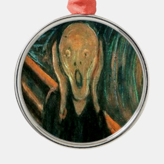 The Scream by Edvard Munch Christmas Ornament