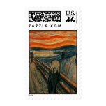The Scream by Edvard Munch Postage Stamps