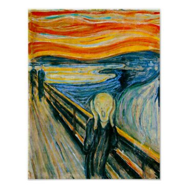 vintagestore The Scream by Edvard Munch Poster