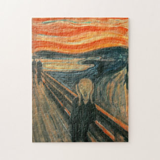 The Scream by Edvard Munch Puzzle