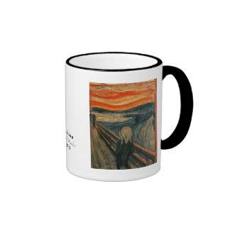 The Scream by Edvard Munch Ringer Mug