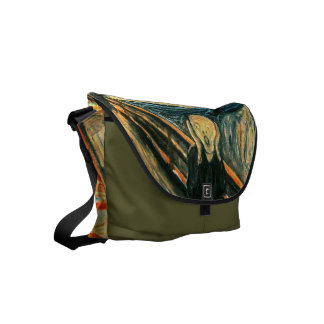 The Scream by Edvard Munch Small Messenger Bag