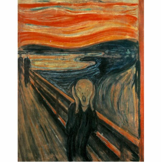 The Scream by Edvard Munch Statuette