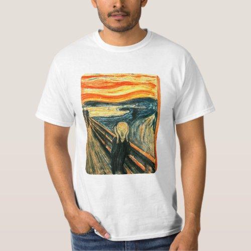 The Scream by Edvard Munch T_Shirt