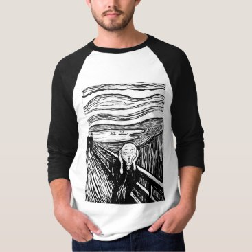 Ladiebug The Scream by Edvard Munch T-Shirt