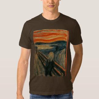 The Scream by Edvard Munch T Shirts