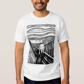 The Scream by Edvard Munch Tee Shirts