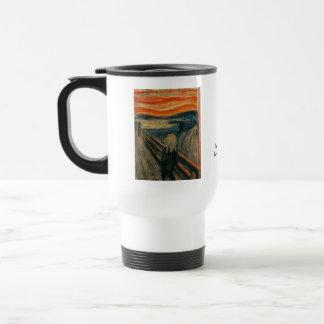 The Scream by Edvard Munch Travel Mug