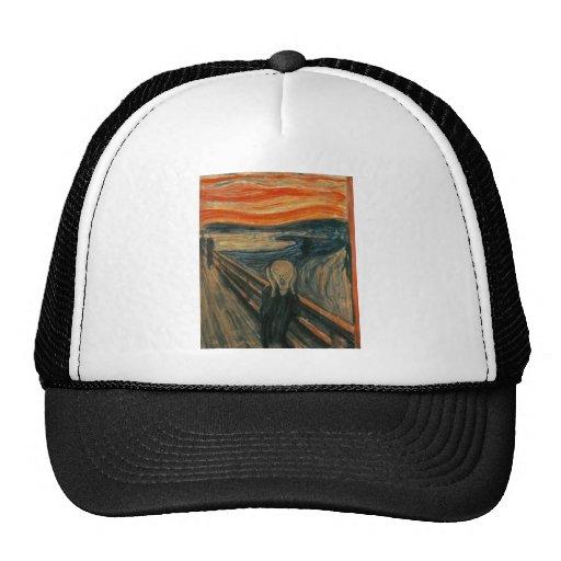 The Scream by Edvard Munch Trucker Hat