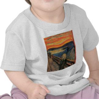 The Scream by Edvard Munch T Shirt