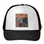 The Scream by Edvard Munch, Vintage Expressionism Trucker Hat