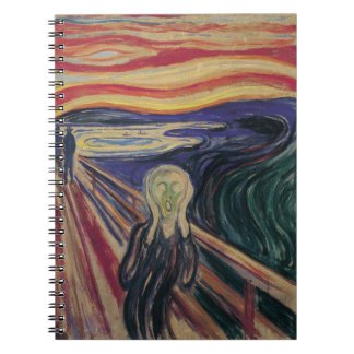 The Scream by Edvard Munch, Vintage Expressionism Note Books