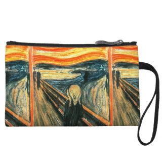 The Scream by Edvard Munch Wristlet
