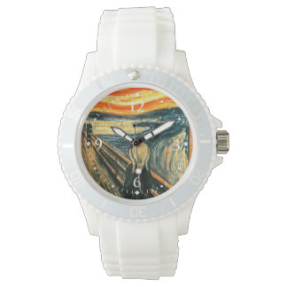 The Scream by Edvard Munch Wristwatches