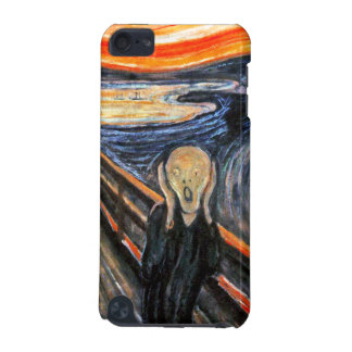 The Scream by Munch: Vintage Painting iPod Touch (5th Generation) Case