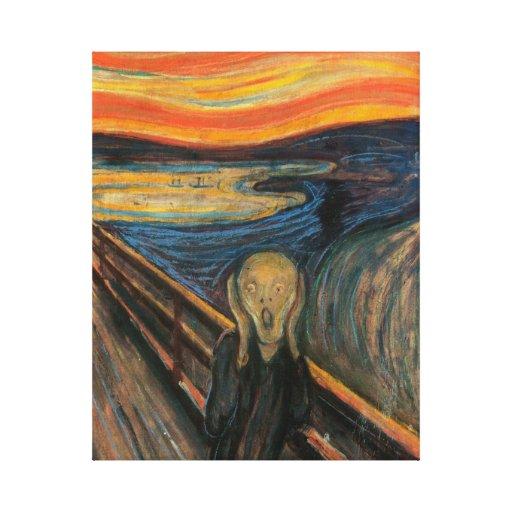 'The Scream' Canvas Print