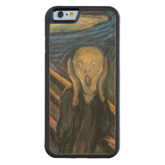 The Scream Carved Maple iPhone 6 Bumper Case