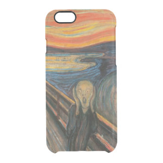 The Scream Clear iPhone 6/6S Case