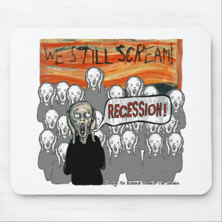 The Scream Current Themes Mouse Pad