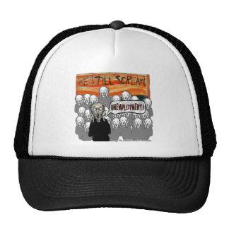 The Scream Current Themes Trucker Hat