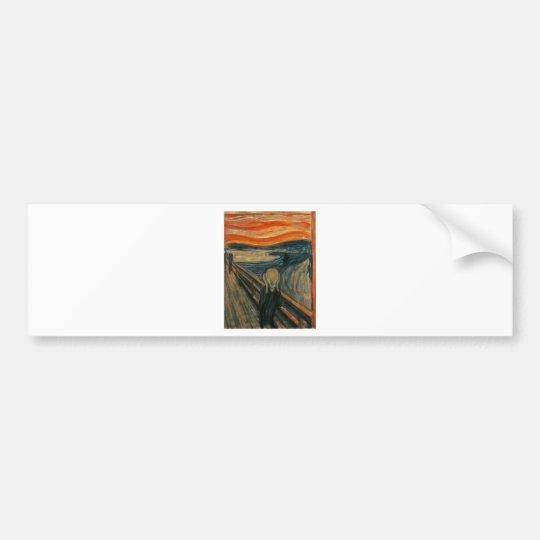 The Scream - Edvard Munch 1893 Bumper Sticker