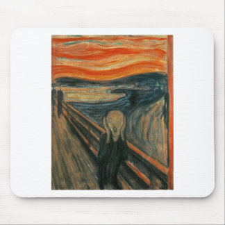 The Scream - Edvard Munch 1893 Mouse Pad