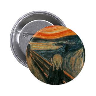 The Scream - Edvard Munch Button