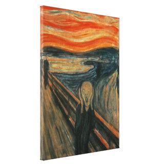 The Scream - Edvard Munch Canvas Print